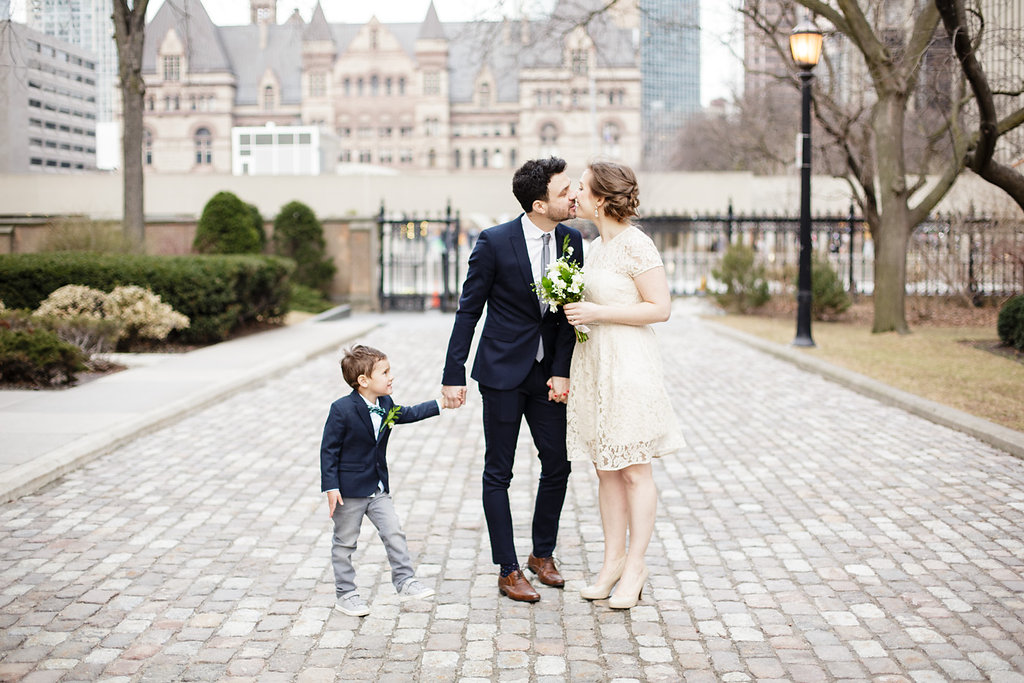Emily and Alex – An Intimate City Hall Wedding