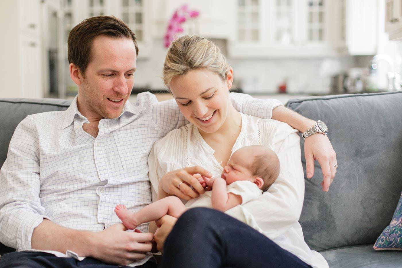 Jane, Jamie, and Hugh – A Newborn Story